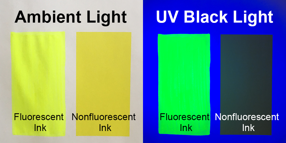 Ambient Light vs UV Black Light